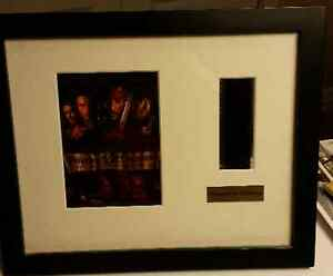 PIRATES OF THE CARIBBEAN FRAMED PICTURE POSTER FILM CEL STRIP