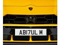 ABDUL M Number plate for sale