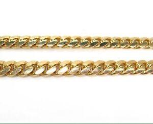 Gold chain Miami Cuban link Peterborough Peterborough Area image 3