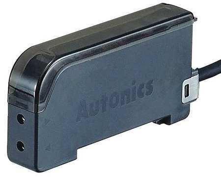 "AUTONICS BF4R Fiber Optic Sensor,LED,NPN,1.29""H,0.47""W"