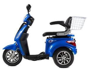 T4B LU-500W-Blue Mobility Electric Scooter