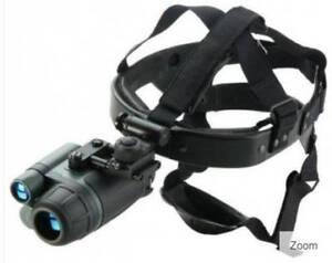 Yukon NVMT Spartan 1 x 24 Night Vision Monocular & Head Gear Kit