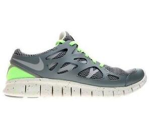 Bertucci's Nike Free Run 2 Neon Yellow And Blue