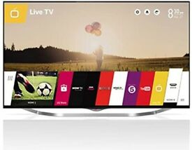 """49 """" LG 4K ULTRA HD HDR 3D SMART TV CAN DELIVER."""