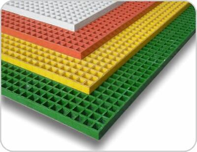 Fiberglass Frp Molded Grating Full Sheets Panels 1 X 4 X 12 - Many Colors