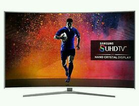 """SAMSUNG 65"""" Curved SUHD SUPER 4K SMART 3D WI-FI HD FREEVIEW."""