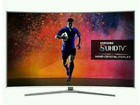 "SAMSUNG 65"" Curved SUHD SUPER 4K SMART 3D WI-FI HD FREEVIEW."