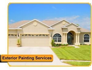 EXTERIOR SPRAY PAINTING SERVICES