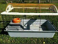 cage à lapin deluxe à vendre