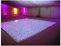 White LED Dance Floors