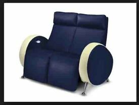 Sofa two seater recliner with Leg massage