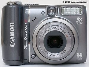 CANON Power Shot A590 IS Camera