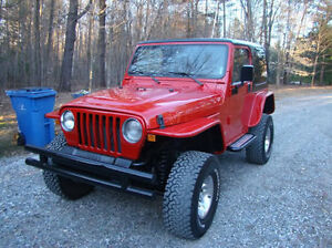 Jeep YJ/TJ Tube Fender Kits - Black Widow Gear