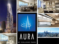 AURA, BAY ST CONDOS FOR RENT