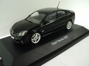 Vauxhall Opel Vectra C Model Car - Black - 90485104