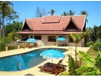 Pay over 15 years. Fully furnished 3 bed villa in Koh Samui, Thailand