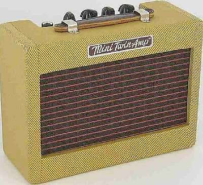Fender Mini '57 Twin Vintage Tweed Guitar Practice Amp on Rummage
