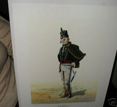 #51 95th or Rifle Regimrnt c1811  Print for Framing