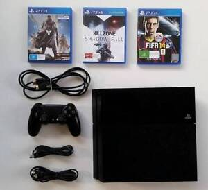Sony Playstation 4 500GB with 3 games Herston Brisbane North East Preview