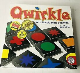 QWIRKLE GAME - MIX MATCH SCORE & WIN - 6YEARS +