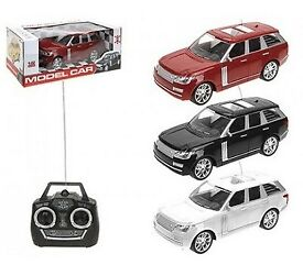 REMOTE CONTROL CAR RED, WHITE OR BLACK