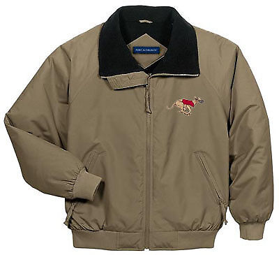 GREYHOUND embroidered challenger jacket ANY COLOR