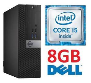 REFURB DELL OPTIPLEX 7040 DESKTOP - 132925821 - COMPUTER PC INTEL I5 6500 8GB MEMORY
