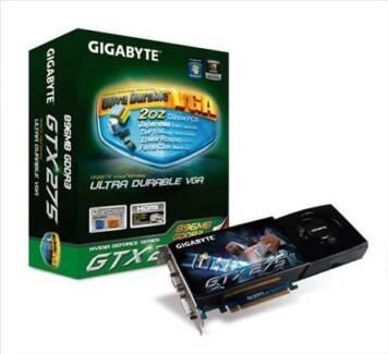 Gigabyte NVIDIA GeForce GTX 275 (896 MB) DDR3 SDRAM PCI Express V