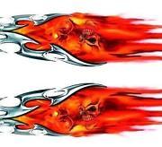 Flames Aufkleber