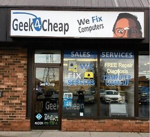 Geek4Cheap ★ Computer Clean up SALE ★ 455 Grand Ave East Chatham