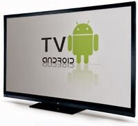 Android TV box with free wireless keyboard