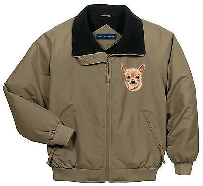 CHIHUAHUA embroidered challenger jacket ANY COLOR
