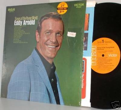 69 Eddy Arnold Lp Songs Of The Young World Nm Ex