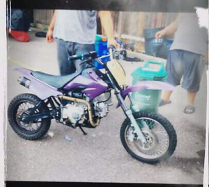 110cc SSR Dirt Bike