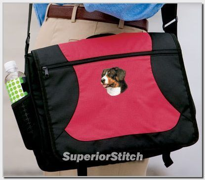 GREATER SWISS MOUNTAIN DOG messenger bag ANY COLOR