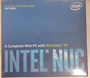 Intel NUC Mini PC with Win 10 - BNIB