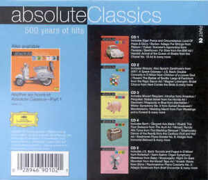 Absolute Classics-Part 2-5 cd Classical music box set