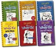 Diary of A Wimpy Kid Book Set 6