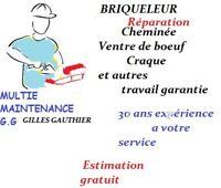 BRIQUELEUR Gilles Gauthier Montreal et  environ 819-216-3430