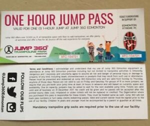 Jump 360 tickets $10 each
