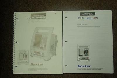 Baxter Colleague Infusion Pump New Operators Manual
