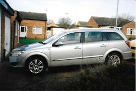 5 Door Vauxhall Astra Design excellent condition inside and outside with Air Con.
