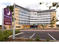 Two rooms for a one night stay at Manchester Airport North Premier Inn