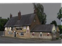 Part time Cook for a newly refurbished Village Pub