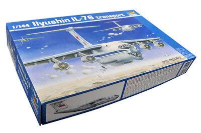Trumpeter 9363901 Iljuschin Il-76 1:144 Flugzeugmodell Modellbausatz