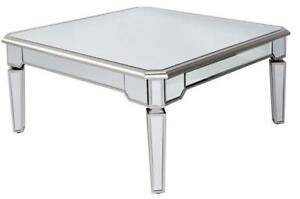 Square Mirrored Coffee Table (MS702)