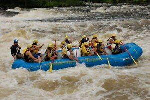 One hour from Ottawa in Whitewater Rafting country
