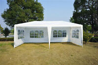 10' x 20' Party Tent w/ Walls - White/Green/Pink/Blue - TAX INCL