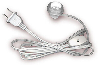 Lamp Lighting Cord Kit with Candelabra Press Fit Socket Fits