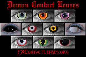 CONTACT LENSES FOR HALLOWEEN